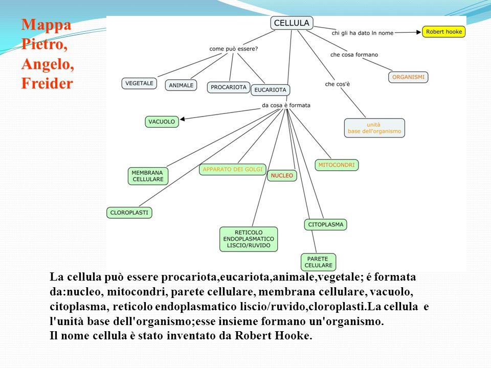 Mappa Pietro, Angelo, Freider