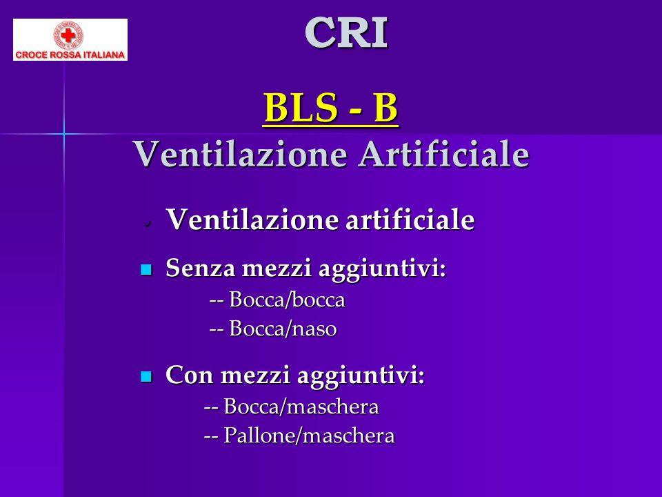 BLS - B Ventilazione Artificiale