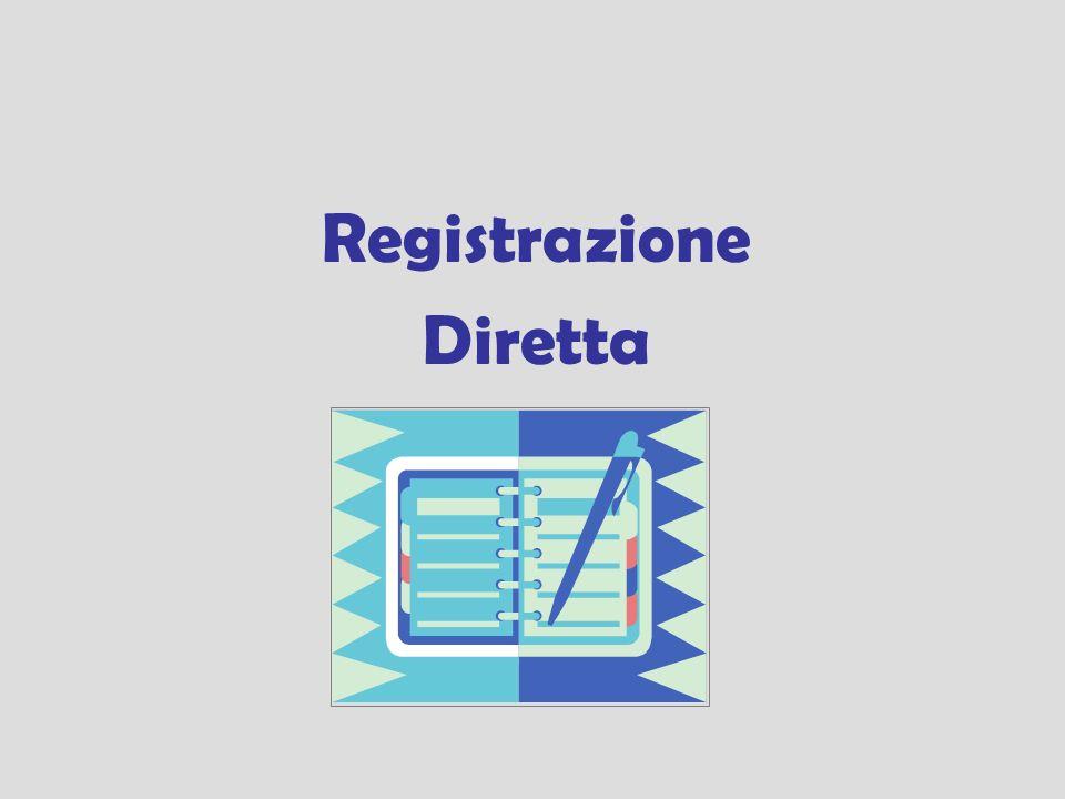 Registrazione Diretta