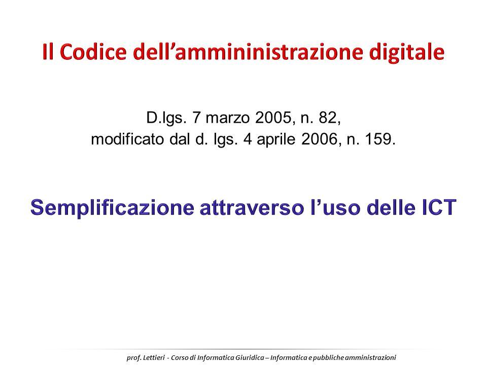 Il Codice dell'ammininistrazione digitale