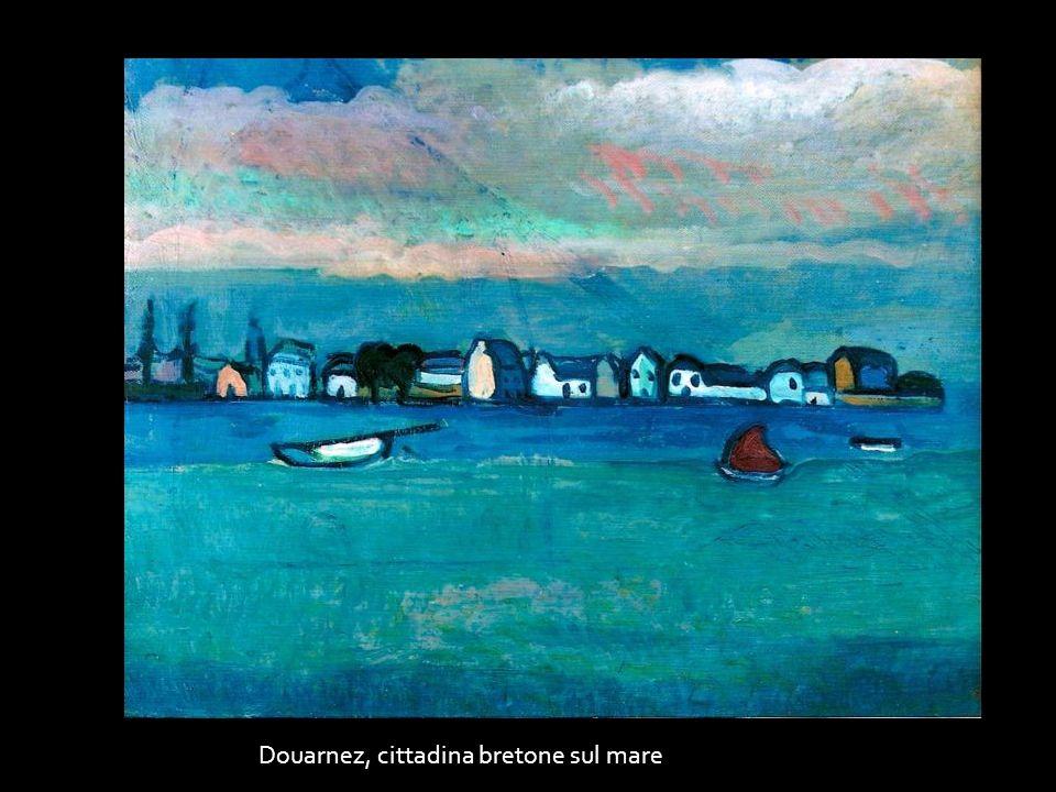 Douarnez, cittadina bretone sul mare