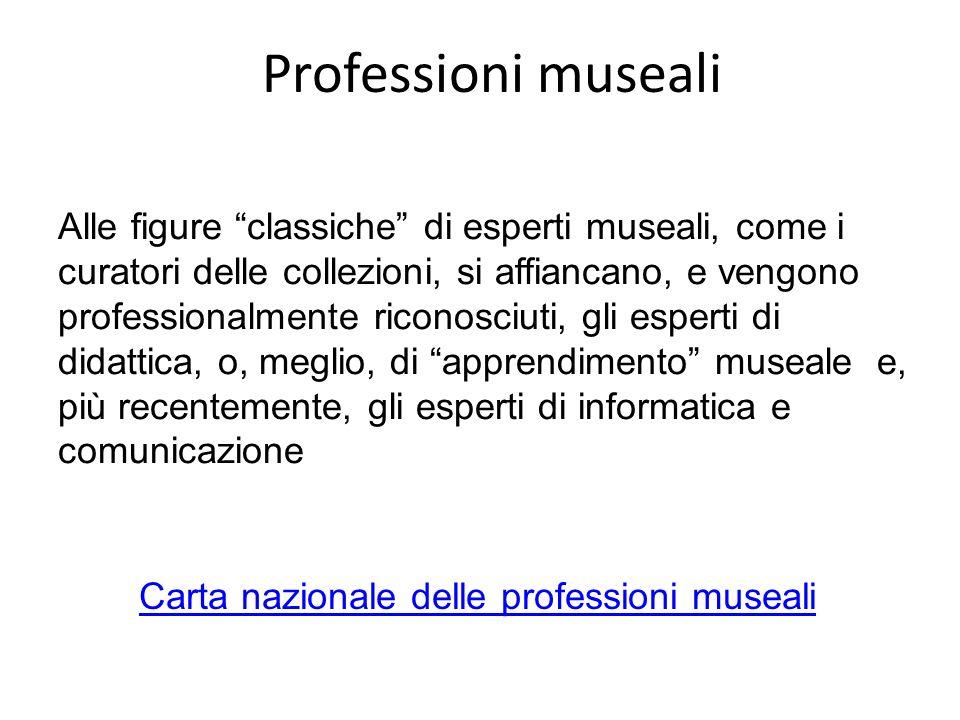 Professioni museali