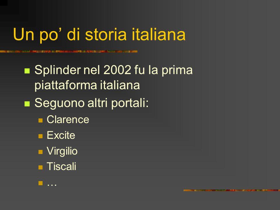 Un po' di storia italiana