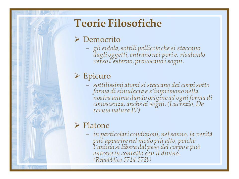 Teorie Filosofiche Democrito Epicuro Platone