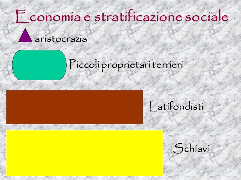 Economia e stratificazione sociale
