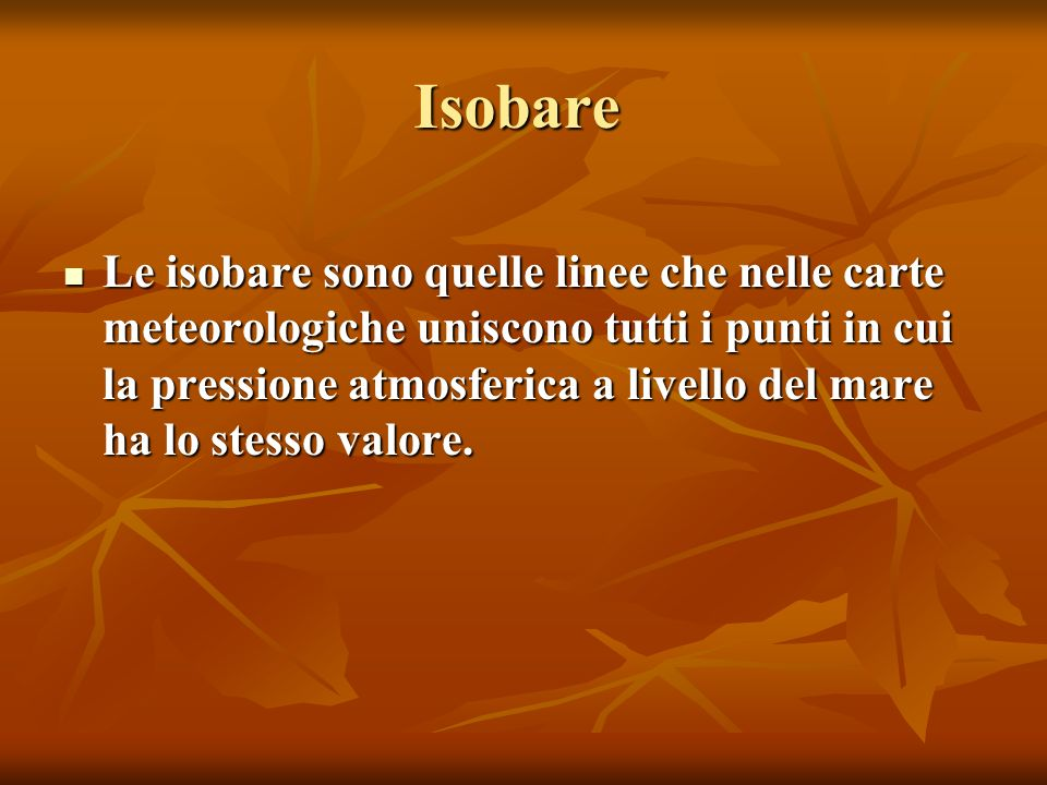 Isobare