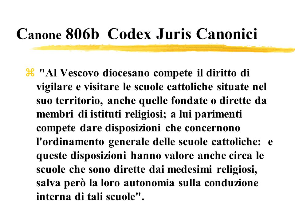 Canone 806b Codex Juris Canonici