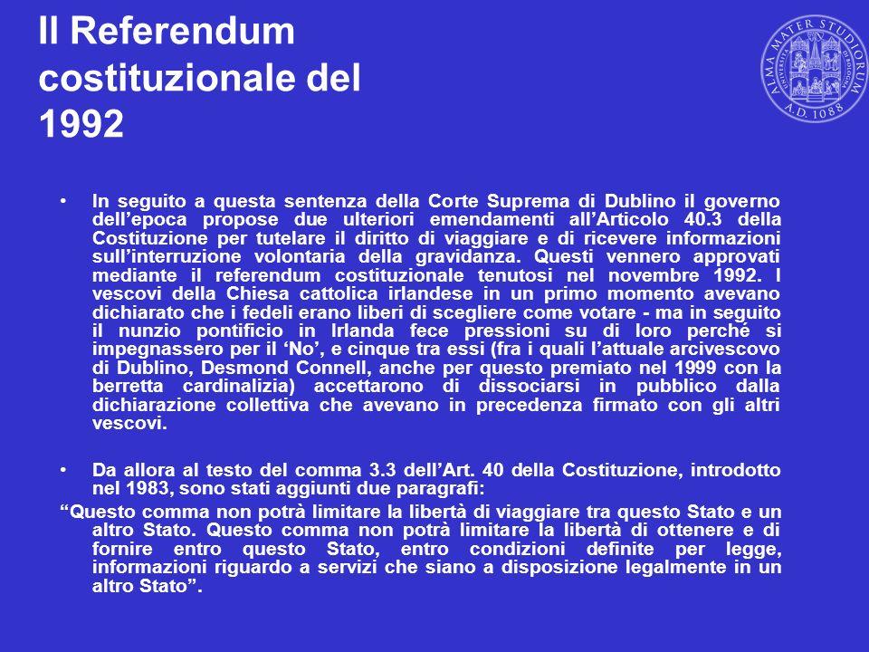 Il Referendum costituzionale del 1992