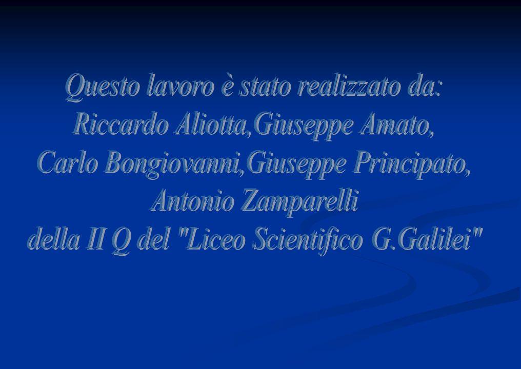 Questo lavoro è stato realizzato da: Riccardo Aliotta,Giuseppe Amato,