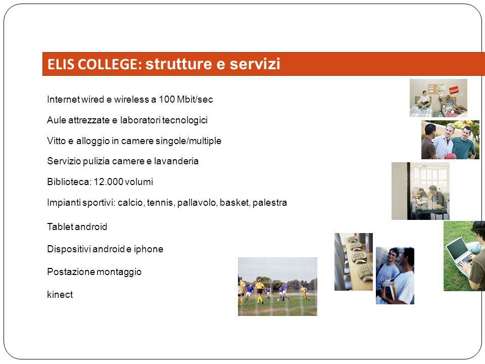 ELIS COLLEGE: strutture e servizi