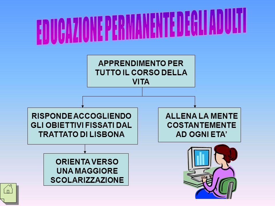 EDUCAZIONE PERMANENTE DEGLI ADULTI