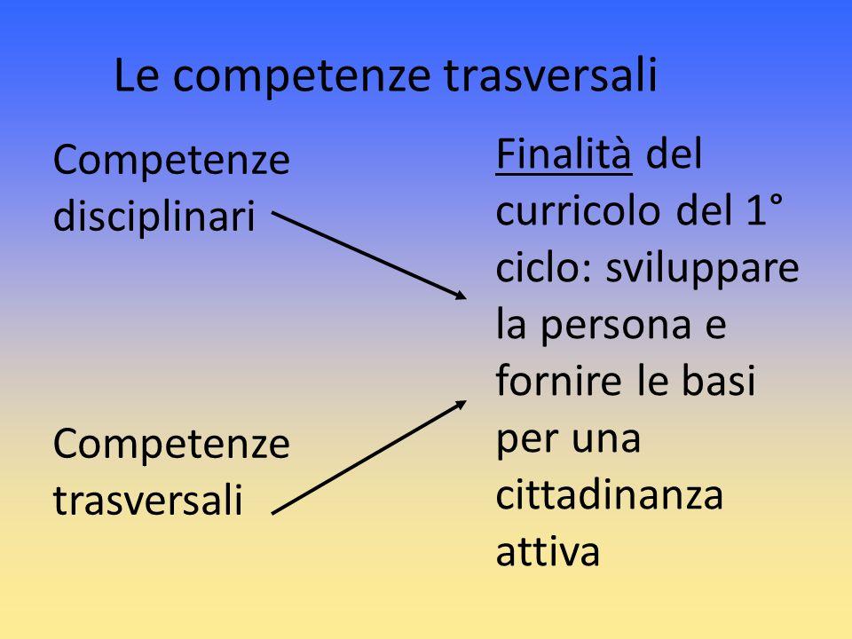 Le competenze trasversali