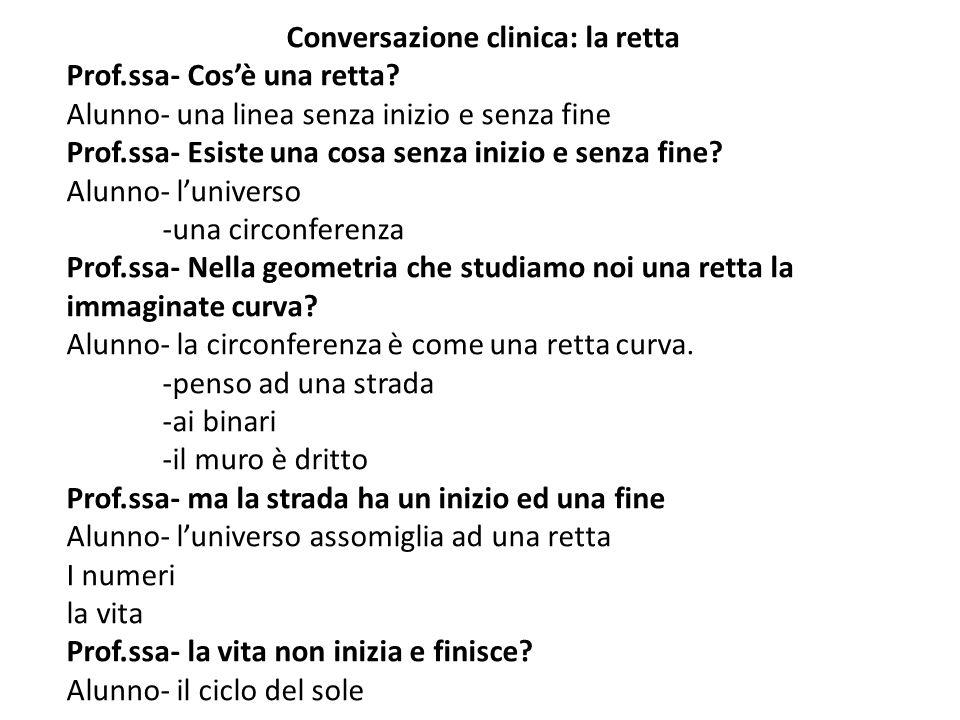 Conversazione clinica: la retta