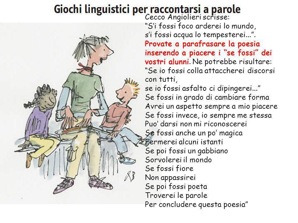 Cecco Angiolieri scrisse: