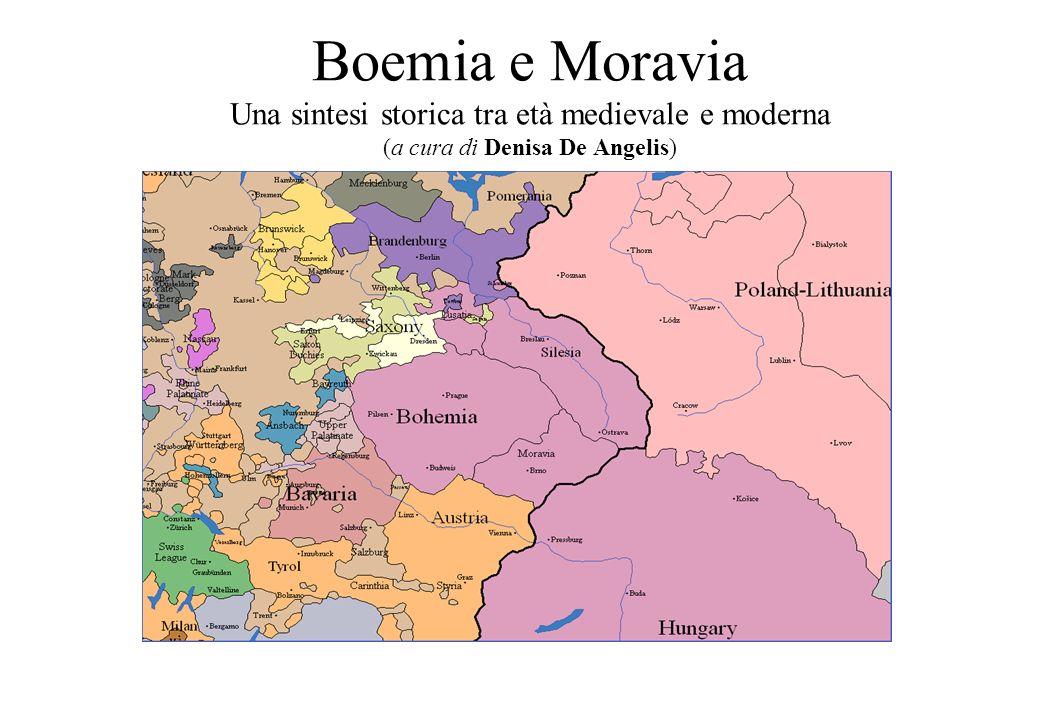 Boemia e Moravia Una sintesi storica tra età medievale e moderna (a cura di Denisa De Angelis)