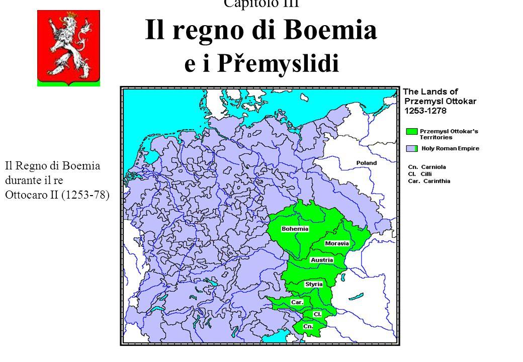 Capitolo III Il regno di Boemia e i Přemyslidi
