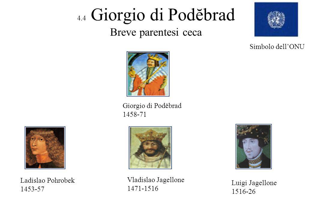 4.4 Giorgio di Podĕbrad Breve parentesi ceca