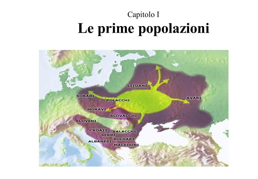 Capitolo I Le prime popolazioni