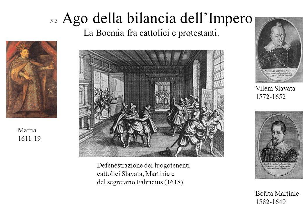 Defenestrazione dei luogotenenti cattolici Slavata, Martinic e