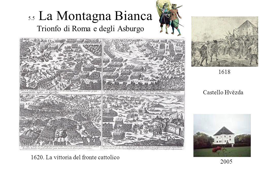 5.5 La Montagna Bianca Trionfo di Roma e degli Asburgo