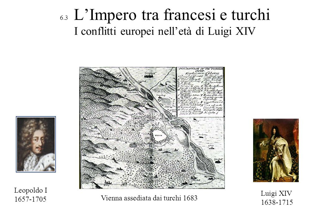 Vienna assediata dai turchi 1683