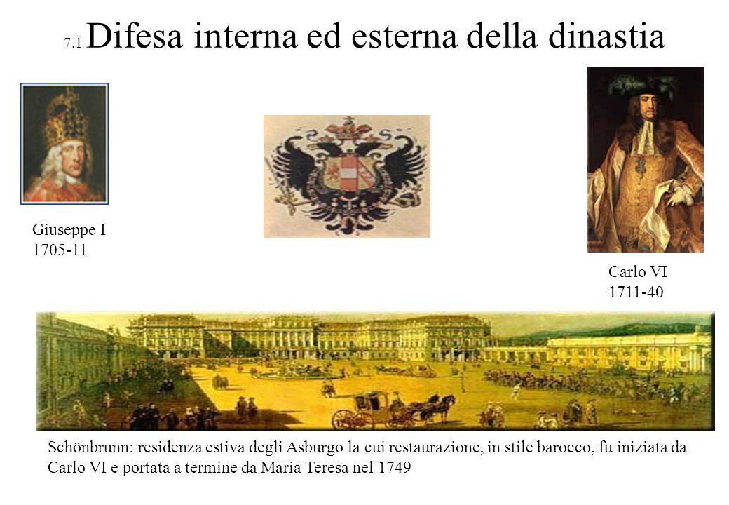7.1 Difesa interna ed esterna della dinastia