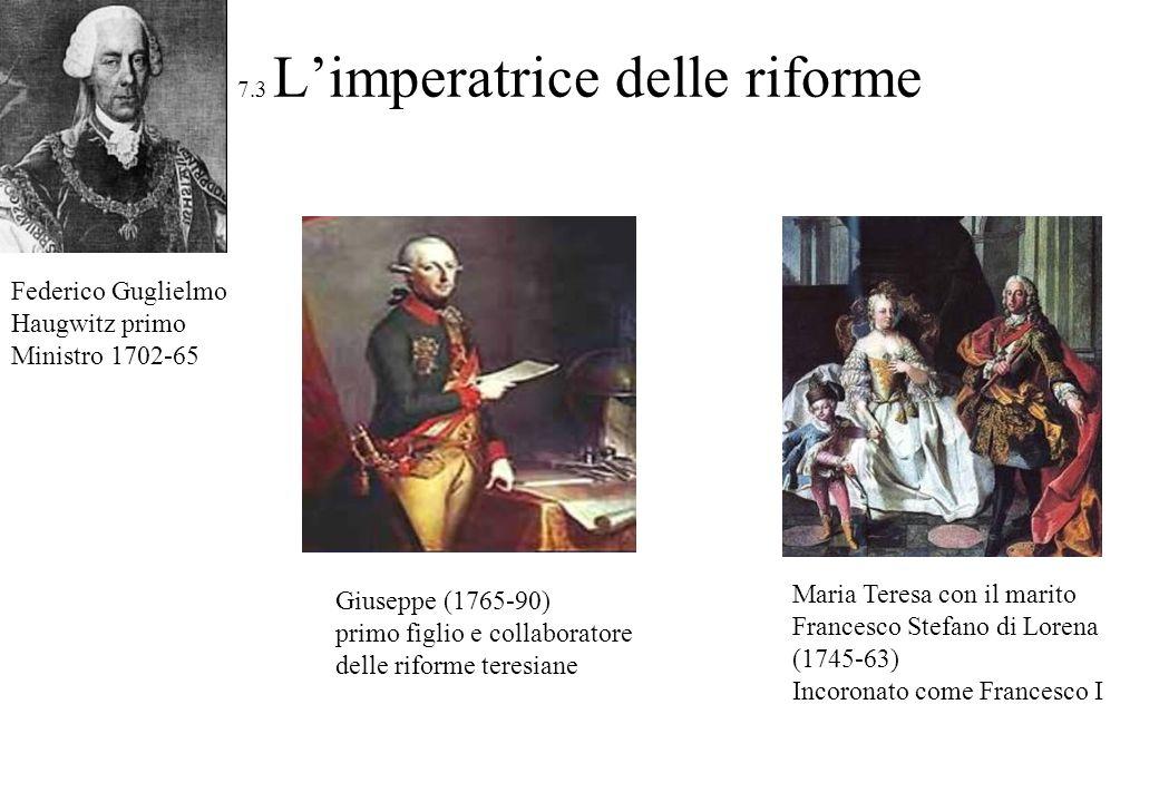 7.3 L'imperatrice delle riforme