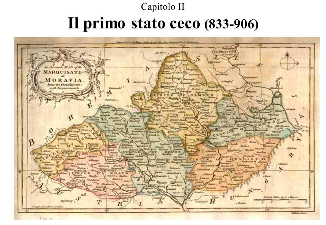 Capitolo II Il primo stato ceco (833-906)