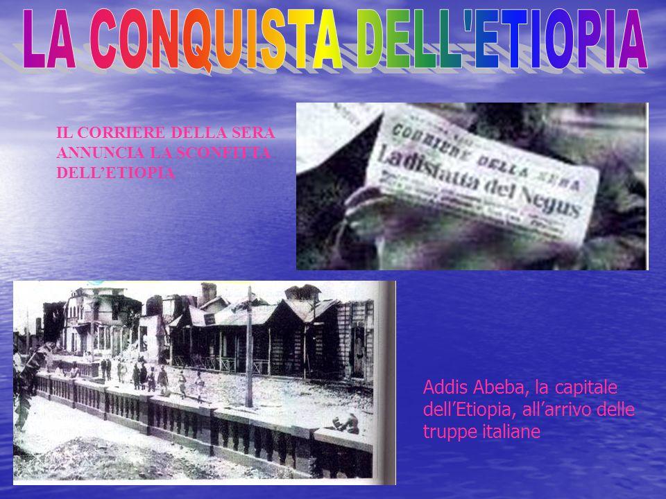 LA CONQUISTA DELL ETIOPIA