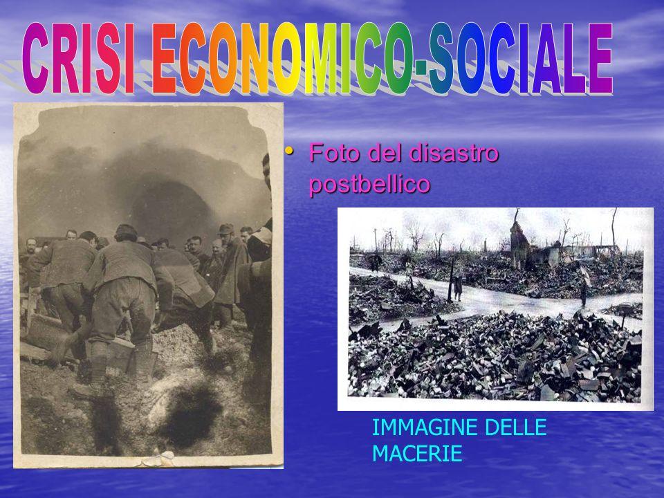 CRISI ECONOMICO-SOCIALE