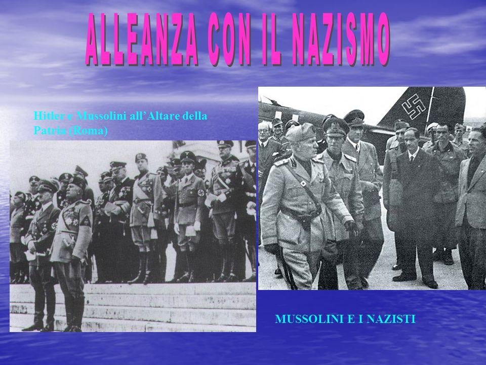ALLEANZA CON IL NAZISMO