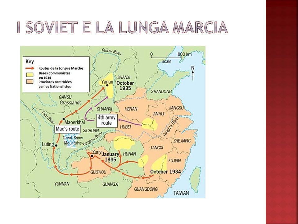 I SOVIET E LA LUNGA MARCIA