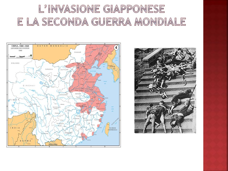 L'INVASIONE GIAPPONESE E LA SECONDA GUERRA MONDIALE