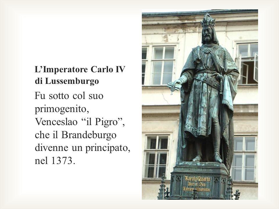 L'Imperatore Carlo IV di Lussemburgo