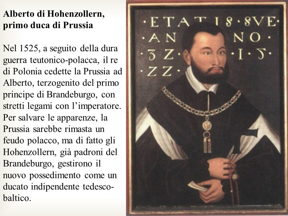 Alberto di Hohenzollern, primo duca di Prussia