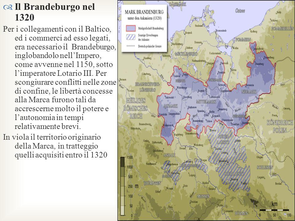Il Brandeburgo nel 1320