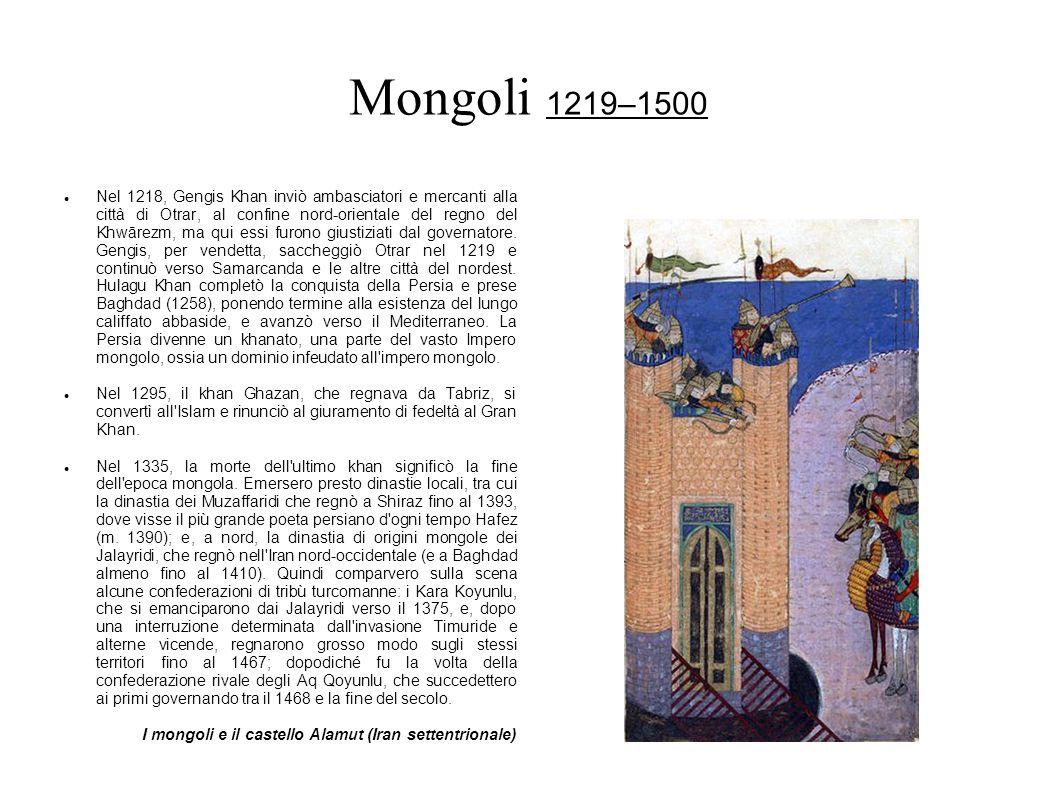 Mongoli 1219–1500