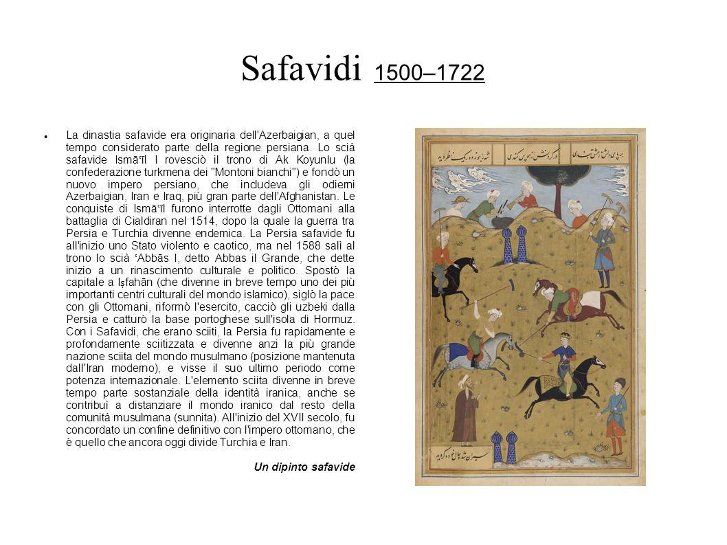 Safavidi 1500–1722