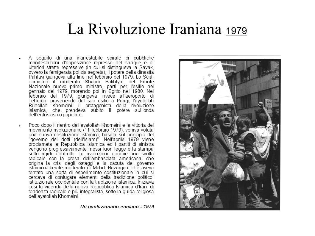La Rivoluzione Iraniana 1979
