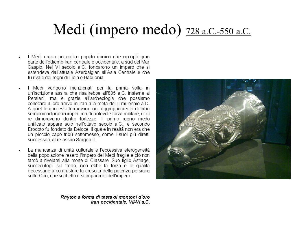 Medi (impero medo) 728 a.C.-550 a.C.