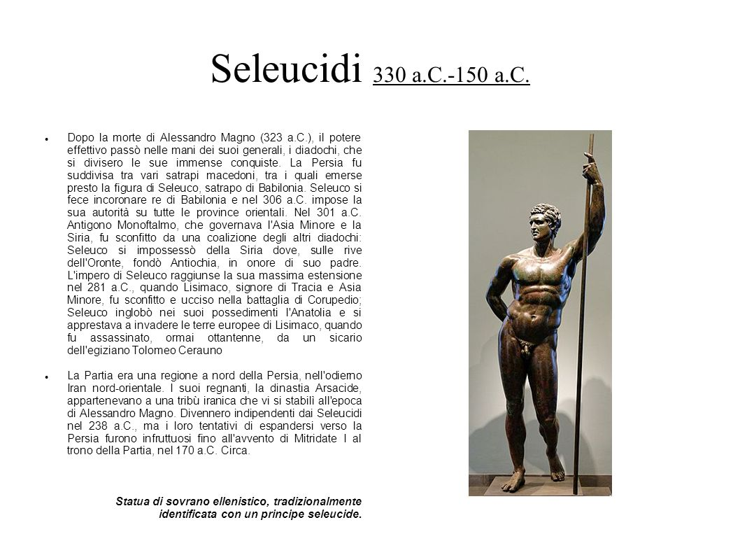 Seleucidi 330 a.C.-150 a.C.