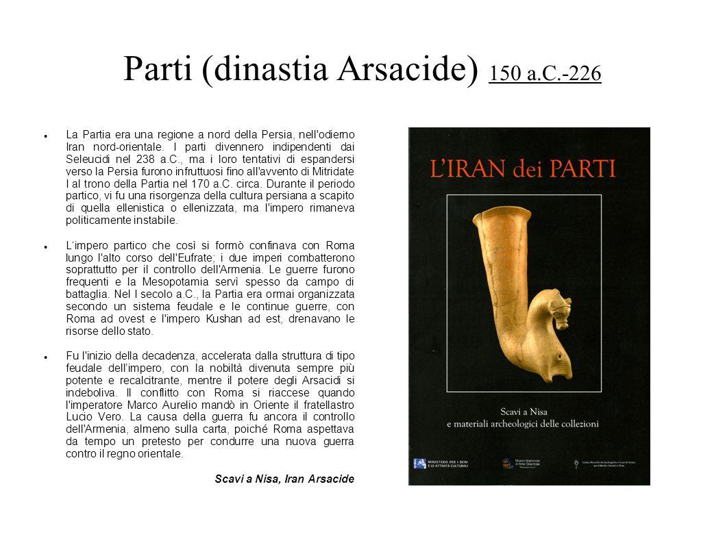 Parti (dinastia Arsacide) 150 a.C.-226