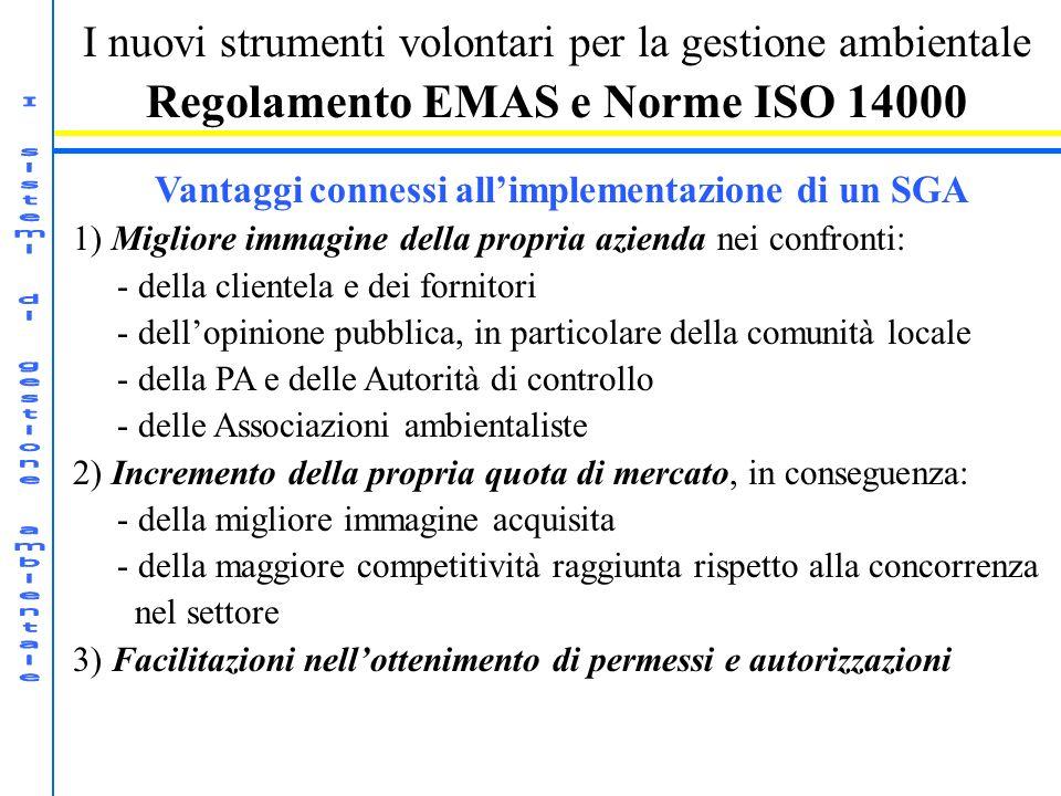 I sistemi di gestione ambientale