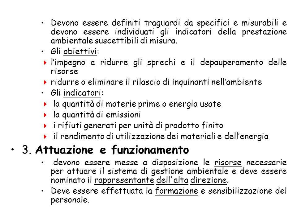 3. Attuazione e funzionamento