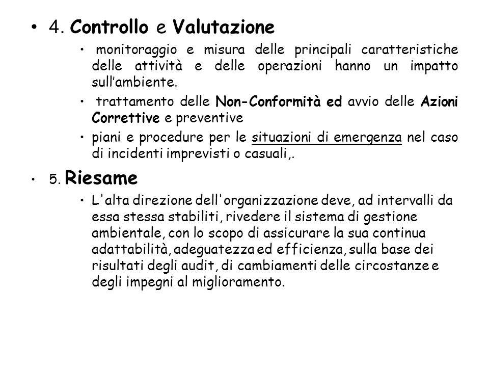 4. Controllo e Valutazione