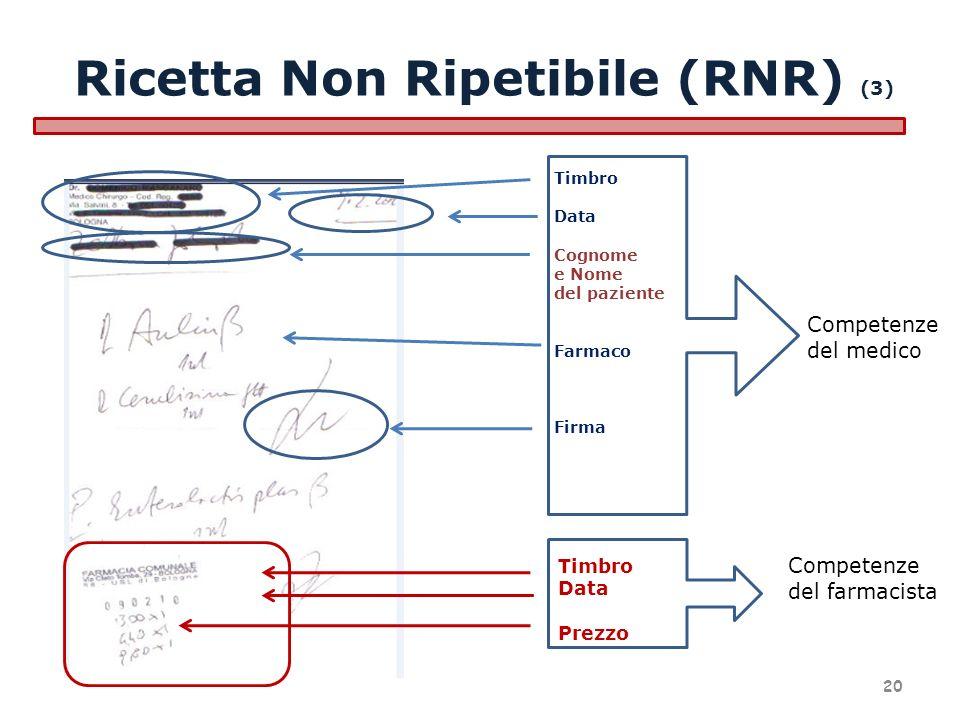 Ricetta Non Ripetibile (RNR) (3)