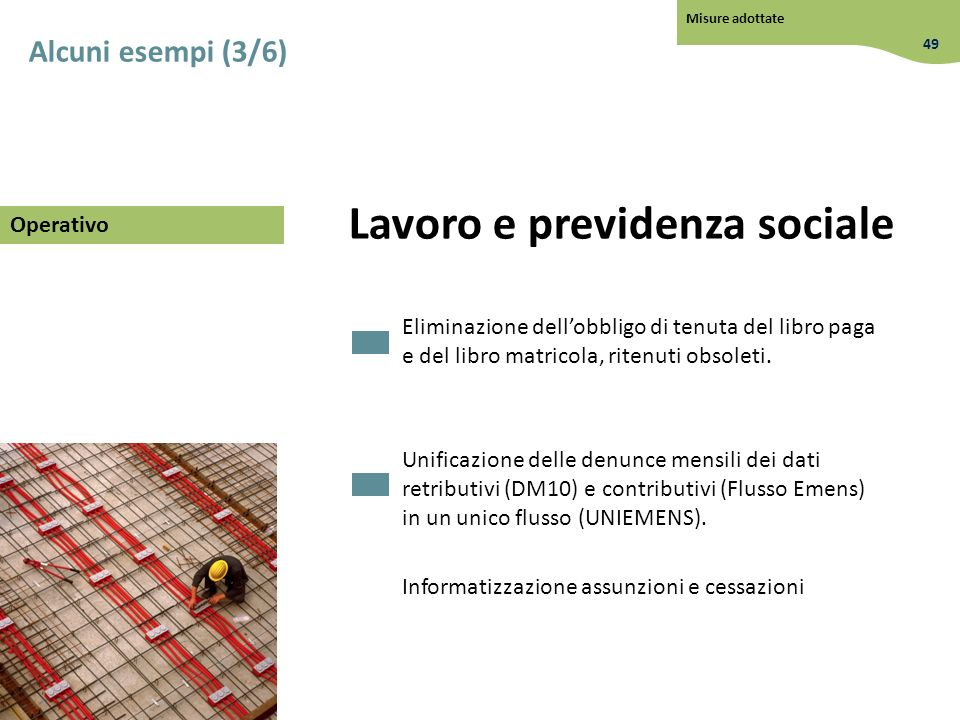 Lavoro e previdenza sociale
