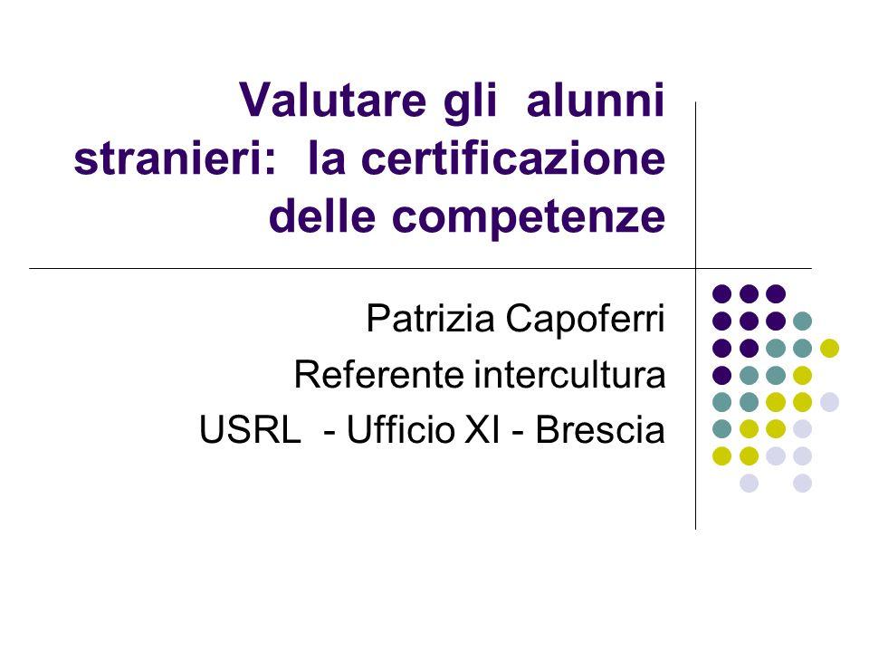 Valutare gli alunni stranieri: la certificazione delle competenze