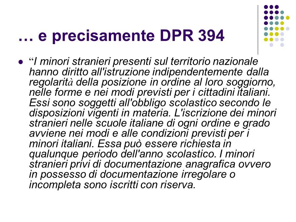 … e precisamente DPR 394