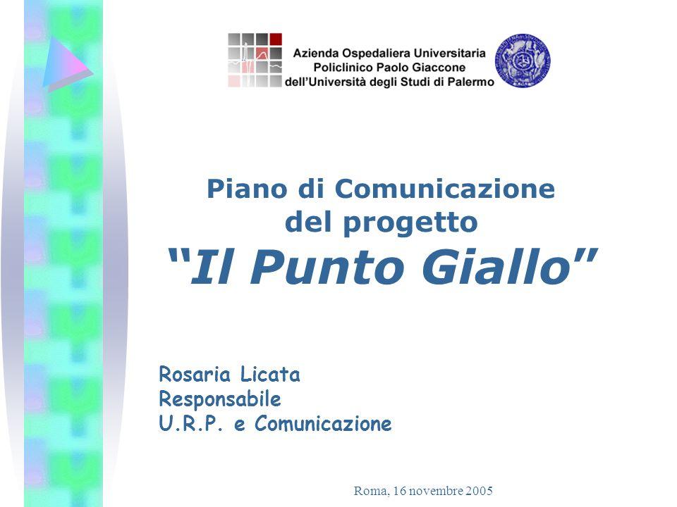 Piano di Comunicazione